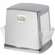 ДИСПЕНСЕР для салфеток 13,5x13,5x10,5см, хром, LIME [NP80C]