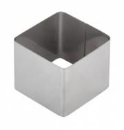 Форма для выпечки/выкладки гарнира или салата «Квадрат» 60х60 мм
