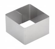 Форма для выпечки/выкладки гарнира или салата «Квадрат» 70х70 мм