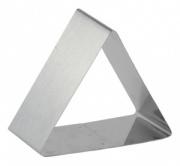 Форма для выпечки/выкладки гарнира или салата «Треугольник» 120х120 мм